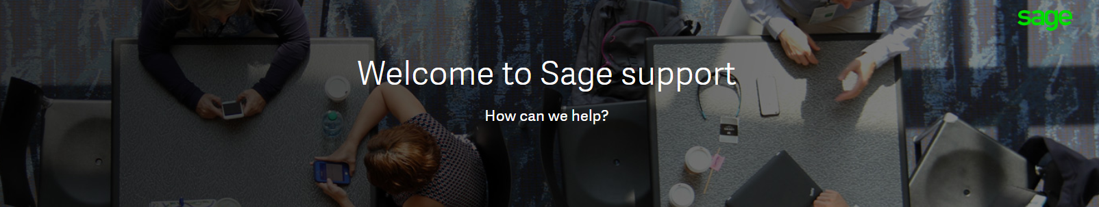 Welcome to Sage support